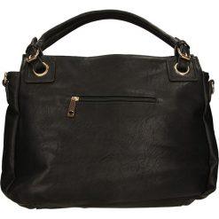 TOREBKA 8067. Czarne torebki klasyczne damskie Casu. Za 79,99 zł.