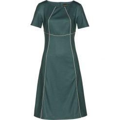 Sukienki: Sukienka bonprix zielono-beżowy