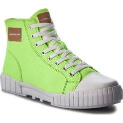 Trampki CALVIN KLEIN JEANS - Biagio S1753  Chemical Yellow. Zielone trampki męskie marki Calvin Klein Jeans, z gumy. Za 569,00 zł.