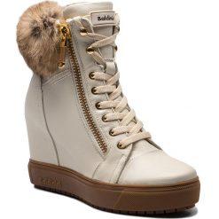Sneakersy BALDININI - 948401TSILA934VXXRXX Sirio Panna/Lapin Volpe. Brązowe sneakersy damskie Baldinini, z materiału. Za 2189,00 zł.