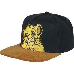 The Lion King Simba Czapka Snapback wielokolorowy. Czarne czapki z daszkiem damskie The Lion King, z aplikacjami, z tworzywa sztucznego. Za 79,90 zł.