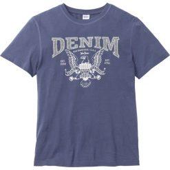 T-shirty męskie z nadrukiem: T-shirt Regular Fit bonprix indygo