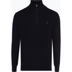 Polo Ralph Lauren - Sweter męski, niebieski. Niebieskie swetry klasyczne męskie Polo Ralph Lauren, l, z bawełny, polo. Za 699,95 zł.