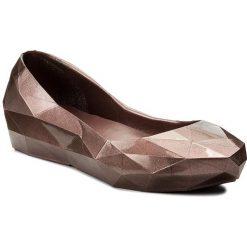 Baleriny damskie lakierowane: Baleriny UNITED NUDE – Lo Res Lo 1003014221 Bronze
