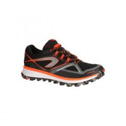 Buty do biegania KIPRUN TRAIL MT męskie. Czarne buty do biegania męskie KALENJI, z gumy. W wyprzedaży za 219,99 zł.