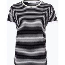 BOSS - T-shirt damski – Emasa, czarny. Czarne t-shirty damskie Boss, l, w paski, z dżerseju. Za 249,95 zł.