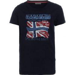 T-shirty chłopięce: Napapijri SOLEX Tshirt z nadrukiem blue marine