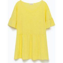 """T-shirty damskie: Koszulka """"Sunybay"""" w kolorze żółtym"""