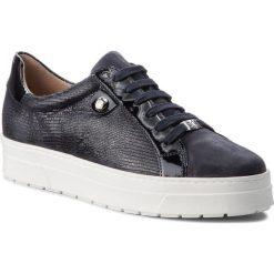Sneakersy CAPRICE - 9-23700-20 Ocean Rep Comb 814. Czarne sneakersy damskie Caprice, z materiału. W wyprzedaży za 189,00 zł.