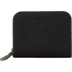 """Portfele damskie: Skórzany portfel """"Dot H7"""" w kolorze czarnym - 11 x 9 x 3 cm"""