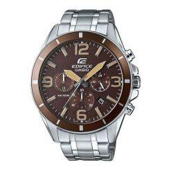 Zegarek Casio Męski EFR-553D-5BVUEF Edifice Chronograf srebrny. Szare zegarki męskie CASIO, srebrne. Za 425,33 zł.