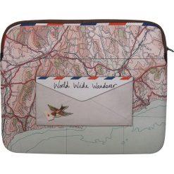 Torebki i plecaki damskie: Torba w kolorze jasnoróżowym na laptop – 15″