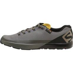 Salomon ACRO Obuwie hikingowe bungee cord/beluga/green sulphur. Zielone buty trekkingowe męskie Salomon, z gumy, outdoorowe. Za 529,00 zł.