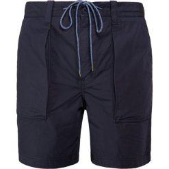BOSS CASUAL SELIAN Szorty dark blue. Niebieskie szorty męskie BOSS Casual, z bawełny, casualowe. Za 499,00 zł.