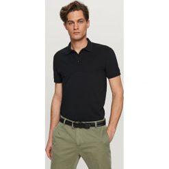 Koszulka polo - Czarny. Czarne koszulki polo Reserved, l. Za 59,99 zł.