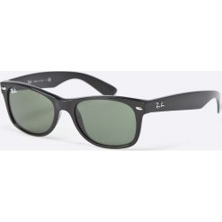 Ray-Ban - Okulary New Wayfarer. Szare okulary przeciwsłoneczne męskie aviatory Ray-Ban, z materiału. Za 479,90 zł.