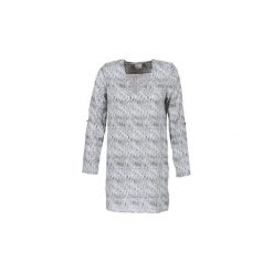 Sukienki krótkie Vero Moda  COOLI. Szare sukienki mini marki Vero Moda, l, z bawełny, casualowe. Za 119,20 zł.