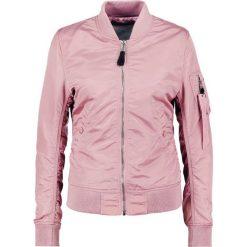 Bomberki damskie: Alpha Industries Kurtka Bomber silver pink