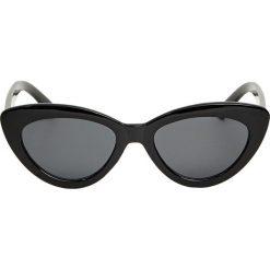 Czarne okulary przeciwsłoneczne cat eye. Czarne okulary przeciwsłoneczne damskie lenonki Pull&Bear. Za 49,90 zł.