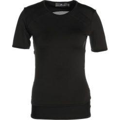 Adidas by Stella McCartney ESS TEE Tshirt z nadrukiem black. Czarne t-shirty damskie adidas by Stella McCartney, m, z nadrukiem, z materiału. Za 279,00 zł.