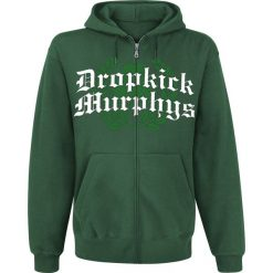 Dropkick Murphys Piper Bluza z kapturem rozpinana ciemnozielony. Zielone bluzy męskie rozpinane Dropkick Murphys, s, z napisami, z kapturem. Za 184,90 zł.