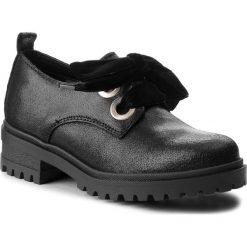 Oxfordy TOMMY JEANS - Metallic Cleated Sho EN0EN00378 Black 990. Czarne jazzówki damskie marki Tommy Jeans, z jeansu, na obcasie. W wyprzedaży za 439,00 zł.