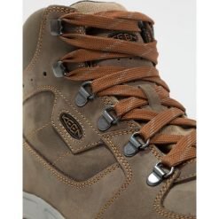 Keen WESTWARD WP Buty trekkingowe dark olive/rust. Zielone buty trekkingowe męskie marki Keen, z gumy, outdoorowe. Za 599,00 zł.