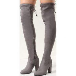 Ciemnoszare Kozaki Magic Of Desire. Szare buty zimowe damskie vices, na wysokim obcasie. Za 159,99 zł.