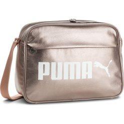 Torba PUMA - Campus Reporter 075005  Peach Beige-Metallic 03. Czerwone torby na laptopa marki Puma, xl, z materiału. Za 169,00 zł.