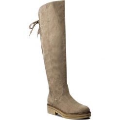 Muszkieterki TAMARIS - 1-25602-29 Pepper 324. Szare buty zimowe damskie marki Tamaris, z materiału. W wyprzedaży za 199,00 zł.