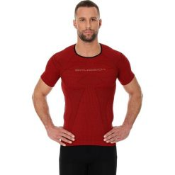 Brubeck Koszulka męska 3D Run PRO z krótkim rękawem ciemnoczerwony r. XXL (SS11920). Czerwone koszulki sportowe męskie marki Brubeck, m. Za 94,99 zł.