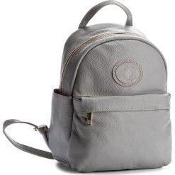 Plecak CREOLE - K10393 Szary. Szare plecaki damskie Creole, ze skóry. W wyprzedaży za 189,00 zł.