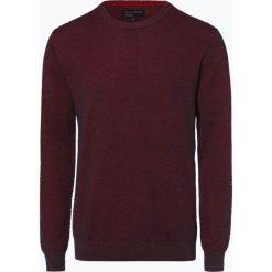 Nils Sundström - Sweter męski, czerwony. Niebieskie swetry klasyczne męskie marki bonprix, m, z nadrukiem, z klasycznym kołnierzykiem, z długim rękawem. Za 129,95 zł.