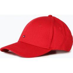 Czapki damskie: Tommy Hilfiger - Damska czapka z daszkiem, czerwony