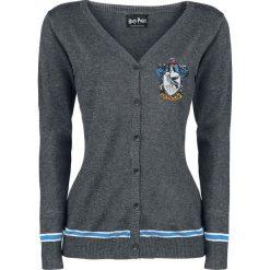 Kardigany damskie: Harry Potter Ravenclaw Crest Kardigan damski odcienie szarego