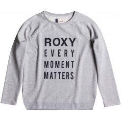 Roxy Bluza Turn And Go J Heritage Heather S. Brązowe bluzy sportowe damskie Roxy, s, z nadrukiem, z materiału. W wyprzedaży za 149,00 zł.