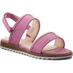 Sandały dziewczęce: Sandały NELLI BLU – CM170427-6 Różowy Ciemny