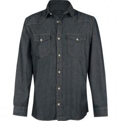 Produkt Next Western Shirt Koszula ciemnoszary. Czarne koszule męskie na spinki marki Leonardo Carbone, s, z materiału, z długim rękawem. Za 109,90 zł.
