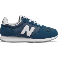 New Balance KL220CCY. Szare buty sportowe dziewczęce marki American CLUB, z materiału, z okrągłym noskiem. W wyprzedaży za 129,99 zł.