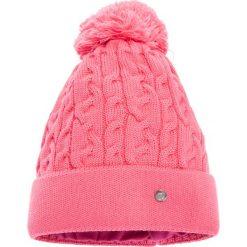 Duża różowa czapka QUIOSQUE. Czerwone czapki zimowe damskie marki QUIOSQUE, z bawełny. W wyprzedaży za 39,99 zł.