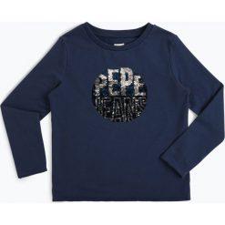 Pepe Jeans - Dziewczęca bluza nierozpinana – Gala, niebieski. Niebieskie bluzy dziewczęce rozpinane Pepe Jeans, z jeansu. Za 249,95 zł.