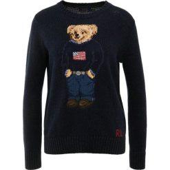 Polo Ralph Lauren Sweter navy multi. Niebieskie swetry klasyczne damskie Polo Ralph Lauren, s, z bawełny, polo. Za 1049,00 zł.