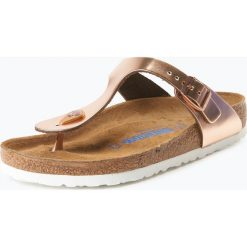 Birkenstock - Sandały damskie ze skóry, różowy. Szare sandały damskie marki Birkenstock, z materiału. Za 199,95 zł.