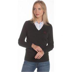 Polo Club C.H..A Sweter Damski M Ciemnozielony. Szare swetry klasyczne damskie marki Polo Club C.H..A, m, dekolt w kształcie v. W wyprzedaży za 239,00 zł.