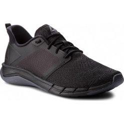 Buty Reebok - Print Run 3.0 CN2501  Black/Ash Grey. Szare buty do biegania męskie marki Reebok, l, z dzianiny, z okrągłym kołnierzem. W wyprzedaży za 229,00 zł.
