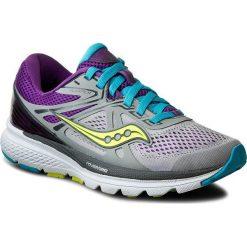 Buty SAUCONY - Swerve S10329-1 Gry/Pur/Blu. Niebieskie buty do biegania damskie marki Salomon, z gore-texu, na sznurówki, gore-tex. W wyprzedaży za 269,00 zł.