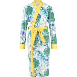 """Szlafrok """"Viridi"""" w kolorze zielono-żółtym. Szare szlafroki damskie marki Esprit. W wyprzedaży za 172,95 zł."""