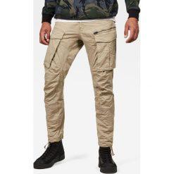 G-Star Raw - Spodnie Rovic Zip 3D. Szare rurki męskie marki G-Star RAW, z bawełny. W wyprzedaży za 379,90 zł.