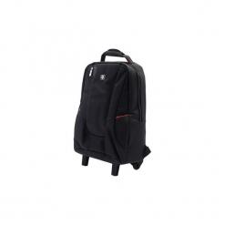 """Troller Laptop A + HK, 15,6 """", czarny. Czarne torby na laptopa A+, w paski, z gumy. Za 183,99 zł."""