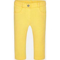 Mayoral - Spodnie dziecięce 68-98 cm. Żółte rurki dziewczęce Mayoral, z bawełny. Za 74,90 zł.